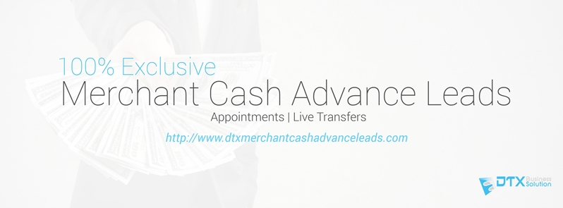 merchant cash advance leads live transfer